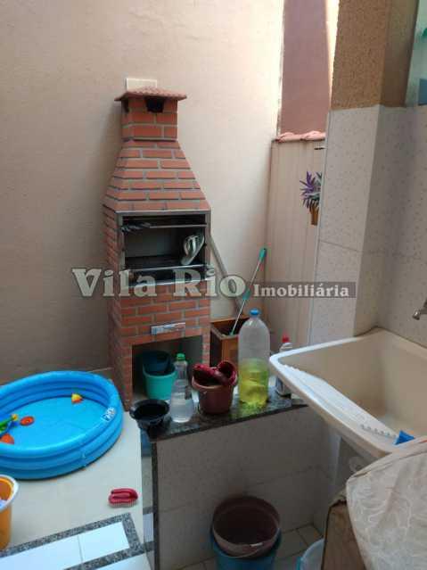 ÁREA. - Casa 3 quartos à venda Braz de Pina, Rio de Janeiro - R$ 780.000 - VCA30054 - 21