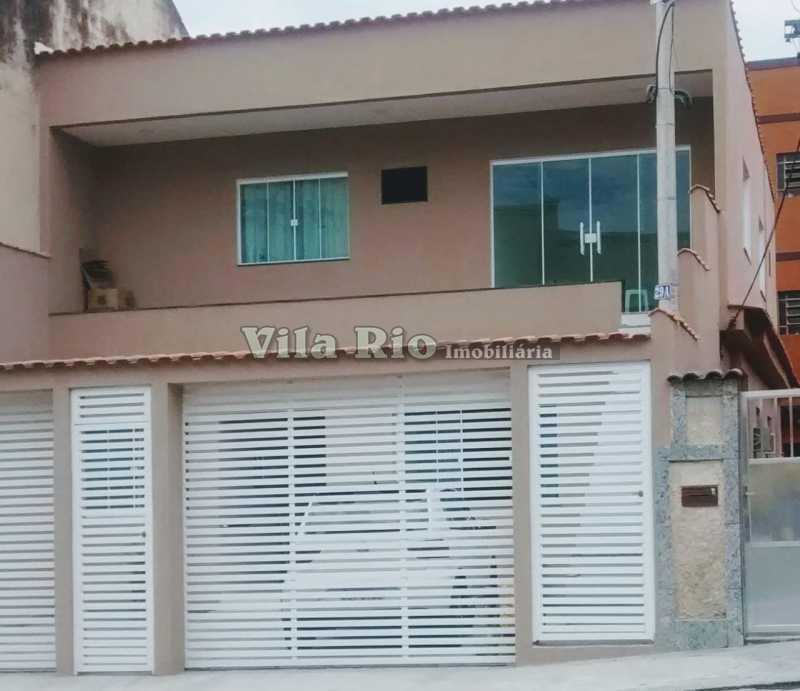 FACHADA. - Casa 3 quartos à venda Braz de Pina, Rio de Janeiro - R$ 780.000 - VCA30054 - 22