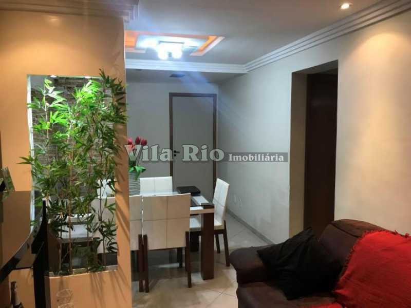SALA 3 - Apartamento 2 quartos à venda Vista Alegre, Rio de Janeiro - R$ 290.000 - VAP20487 - 1