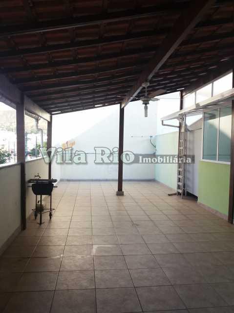 TERRAÇO 1 - Casa 3 quartos à venda Vila da Penha, Rio de Janeiro - R$ 690.000 - VCA30053 - 26