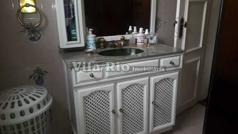 Banheiro social - Casa 6 quartos à venda Irajá, Rio de Janeiro - R$ 1.200.000 - VCA60003 - 16