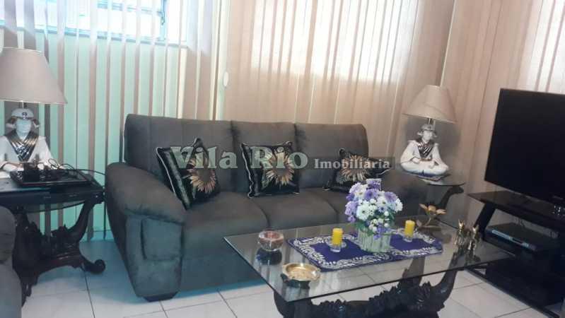 Sala de estar - Casa 6 quartos à venda Irajá, Rio de Janeiro - R$ 1.200.000 - VCA60003 - 1