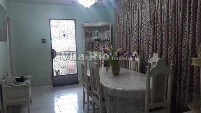 Sala de jantar - Casa 6 quartos à venda Irajá, Rio de Janeiro - R$ 1.200.000 - VCA60003 - 3