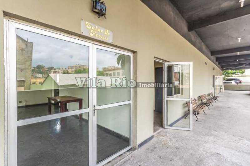 SALÃO DE FESTAS. - Apartamento 2 quartos à venda Vaz Lobo, Rio de Janeiro - R$ 135.000 - VAP20491 - 23