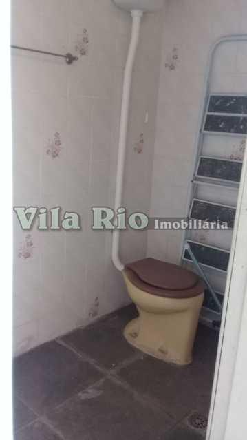 Banheiro serviço - Casa 6 quartos à venda Vista Alegre, Rio de Janeiro - R$ 950.000 - VCA60004 - 17
