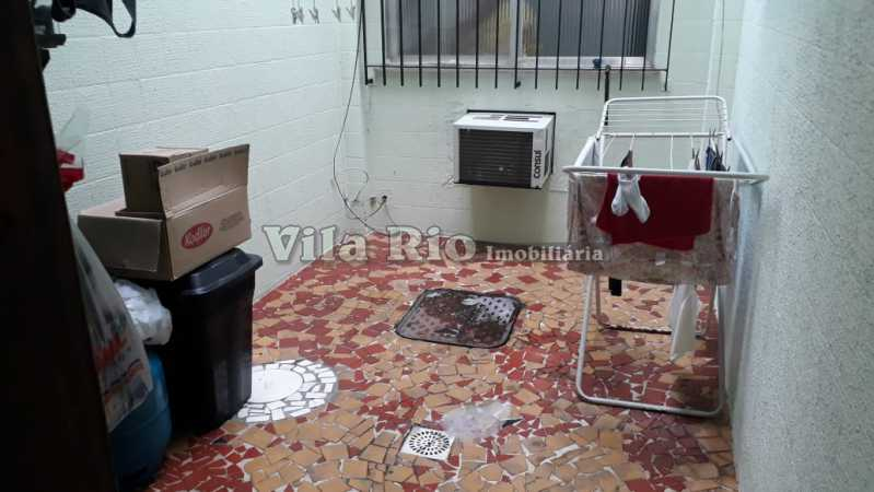 Área de serviço - Casa 6 quartos à venda Vista Alegre, Rio de Janeiro - R$ 950.000 - VCA60004 - 21