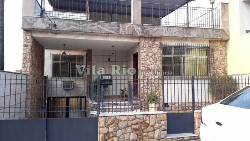 Fachada - Casa 6 quartos à venda Vista Alegre, Rio de Janeiro - R$ 950.000 - VCA60004 - 1
