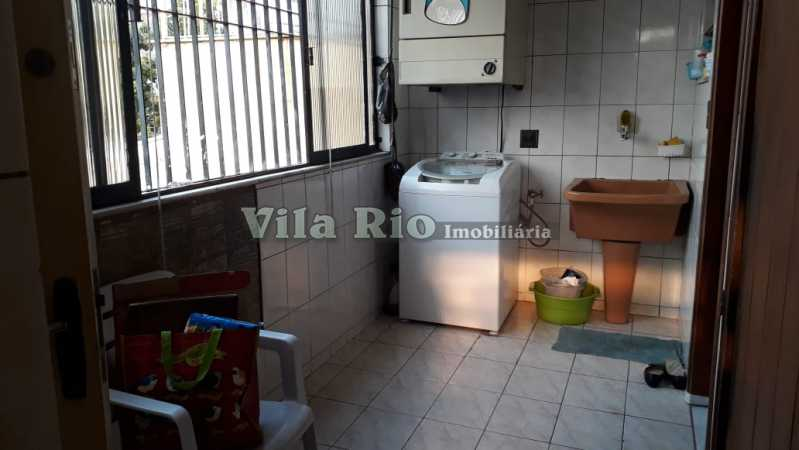 Lavanderia - Casa 6 quartos à venda Vista Alegre, Rio de Janeiro - R$ 950.000 - VCA60004 - 27