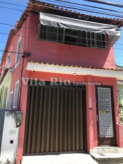 Fachada - Casa 2 quartos à venda Vila da Penha, Rio de Janeiro - R$ 450.000 - VCA20046 - 1