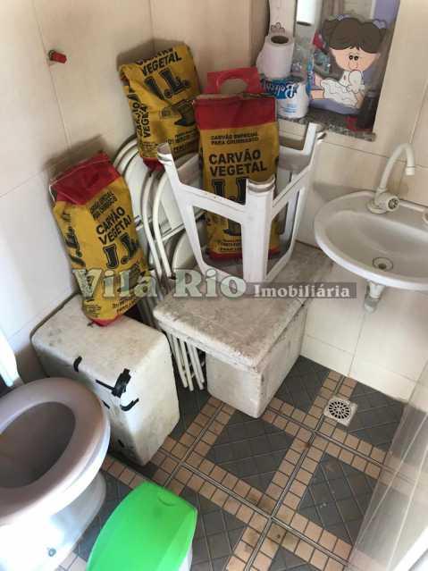 Banheiro do Terraço - Casa 2 quartos à venda Vila da Penha, Rio de Janeiro - R$ 450.000 - VCA20046 - 9