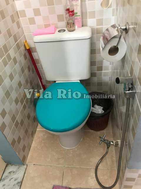 Banheiro Suite 1 - Casa 2 quartos à venda Vila da Penha, Rio de Janeiro - R$ 450.000 - VCA20046 - 10