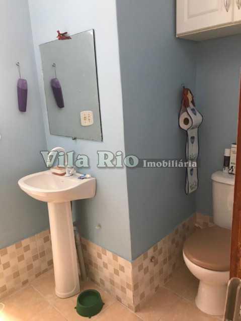 Banheiro - Casa 2 quartos à venda Vila da Penha, Rio de Janeiro - R$ 450.000 - VCA20046 - 12