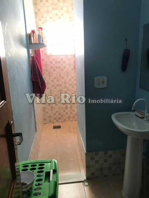 Banheiro1 - Casa 2 quartos à venda Vila da Penha, Rio de Janeiro - R$ 450.000 - VCA20046 - 13