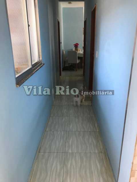 Circulação - Casa 2 quartos à venda Vila da Penha, Rio de Janeiro - R$ 450.000 - VCA20046 - 14