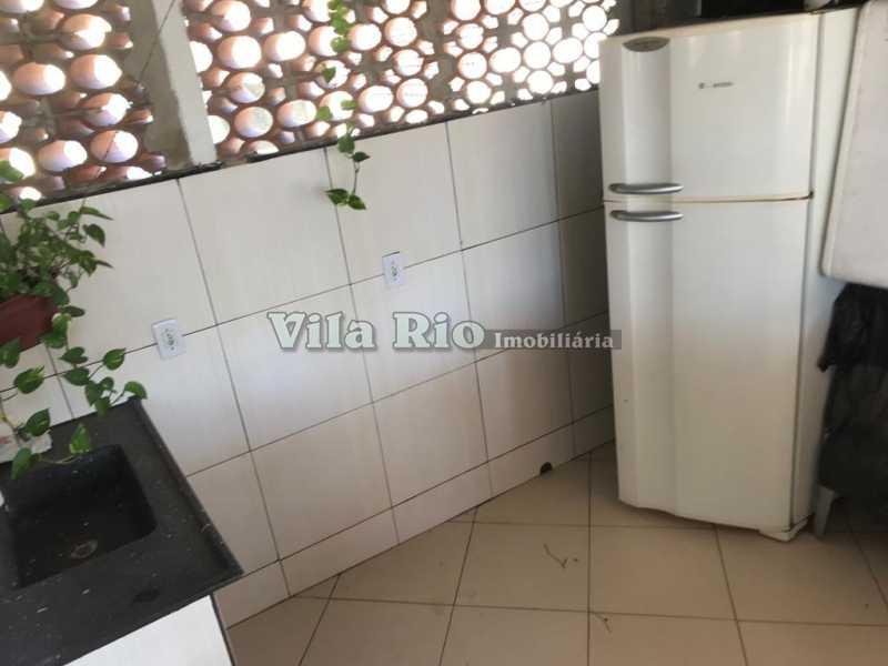 Cozinha Terraço - Casa 2 quartos à venda Vila da Penha, Rio de Janeiro - R$ 450.000 - VCA20046 - 16