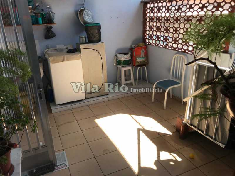 Área de serviço - Casa 2 quartos à venda Vila da Penha, Rio de Janeiro - R$ 450.000 - VCA20046 - 18
