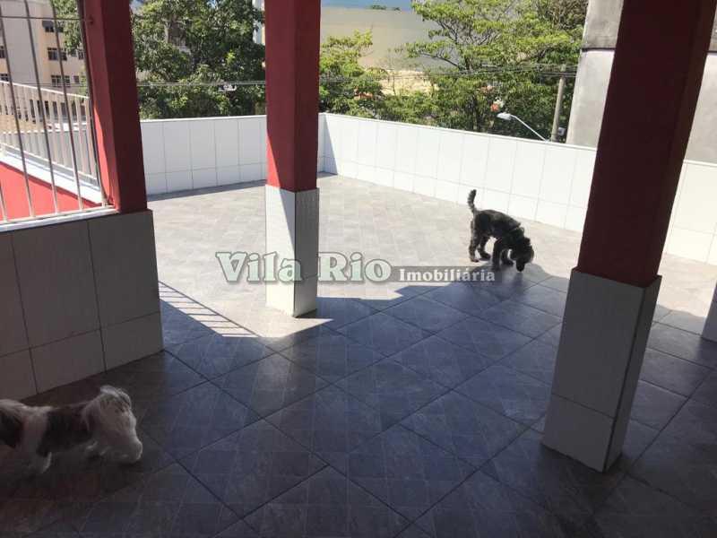 Terraço - Casa 2 quartos à venda Vila da Penha, Rio de Janeiro - R$ 450.000 - VCA20046 - 21
