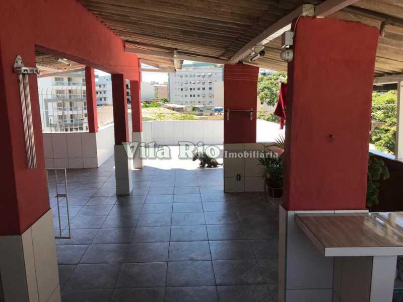 Terraço1 - Casa 2 quartos à venda Vila da Penha, Rio de Janeiro - R$ 450.000 - VCA20046 - 22