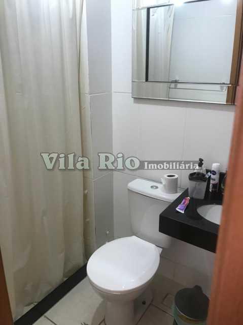 Banheiro Social - Apartamento 2 quartos à venda Parada de Lucas, Rio de Janeiro - R$ 185.000 - VAP20502 - 6