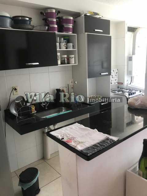 Cozinha - Apartamento 2 quartos à venda Parada de Lucas, Rio de Janeiro - R$ 185.000 - VAP20502 - 9