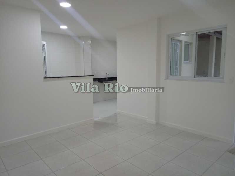 SALA 1 - Apartamento 1 quarto à venda Vila Kosmos, Rio de Janeiro - R$ 245.000 - VAP10047 - 1