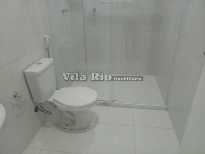 BANHEIRO 1 - Apartamento 1 quarto à venda Vila Kosmos, Rio de Janeiro - R$ 235.000 - VAP10049 - 7