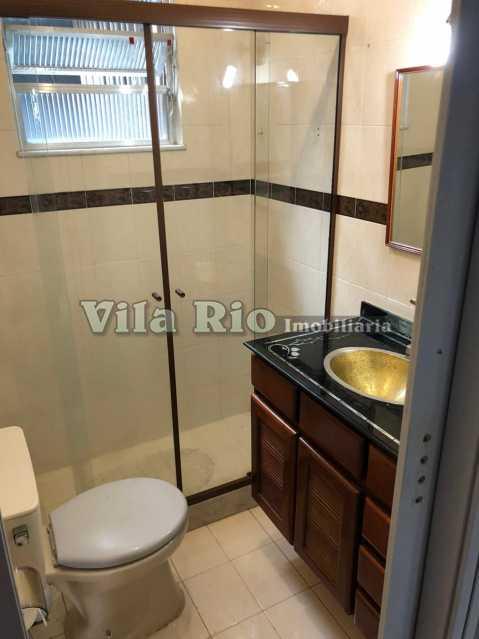 Banheiro 2 - Casa de Vila Braz de Pina,Rio de Janeiro,RJ À Venda,2 Quartos,72m² - VCV20017 - 9