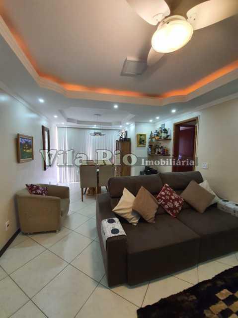 SALA 1 - Apartamento 3 quartos à venda Vila Kosmos, Rio de Janeiro - R$ 550.000 - VAP30164 - 1