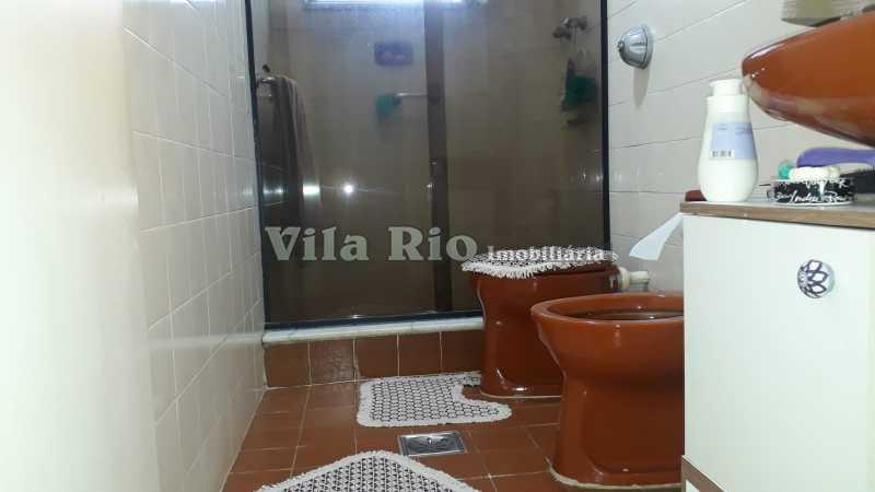 Banheiro social.1 - Apartamento Vista Alegre, Rio de Janeiro, RJ À Venda, 2 Quartos, 70m² - VAP20550 - 14