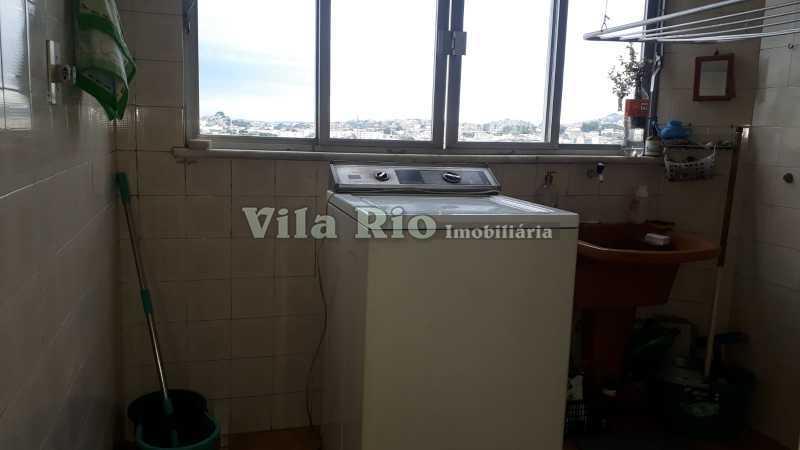 Área de serviço - Apartamento Vista Alegre, Rio de Janeiro, RJ À Venda, 2 Quartos, 70m² - VAP20550 - 19