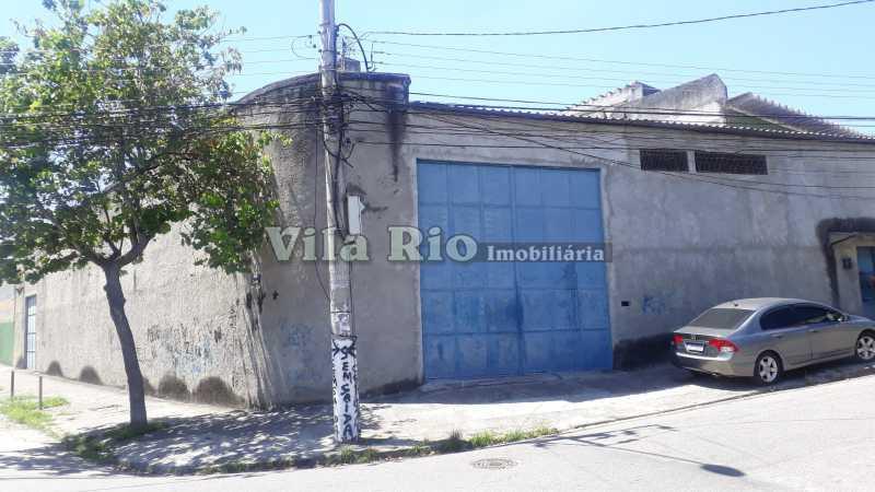 Frente.1 - Galpão 600m² para venda e aluguel Irajá, Rio de Janeiro - R$ 1.400.000 - VGA00019 - 1