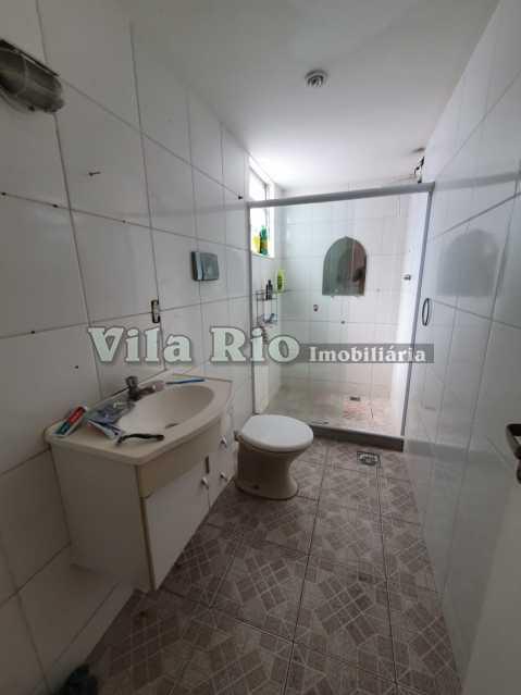 BANHEIRO 1. - Casa Vila Kosmos,Rio de Janeiro,RJ À Venda,3 Quartos,145m² - VCA30060 - 12