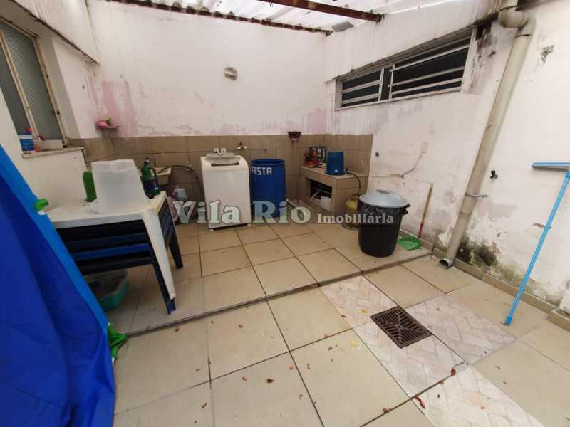 ÁREA. - Casa Vila Kosmos,Rio de Janeiro,RJ À Venda,3 Quartos,145m² - VCA30060 - 16