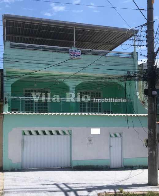 Fachada - Casa 4 quartos à venda Vicente de Carvalho, Rio de Janeiro - R$ 598.000 - VCA40034 - 1