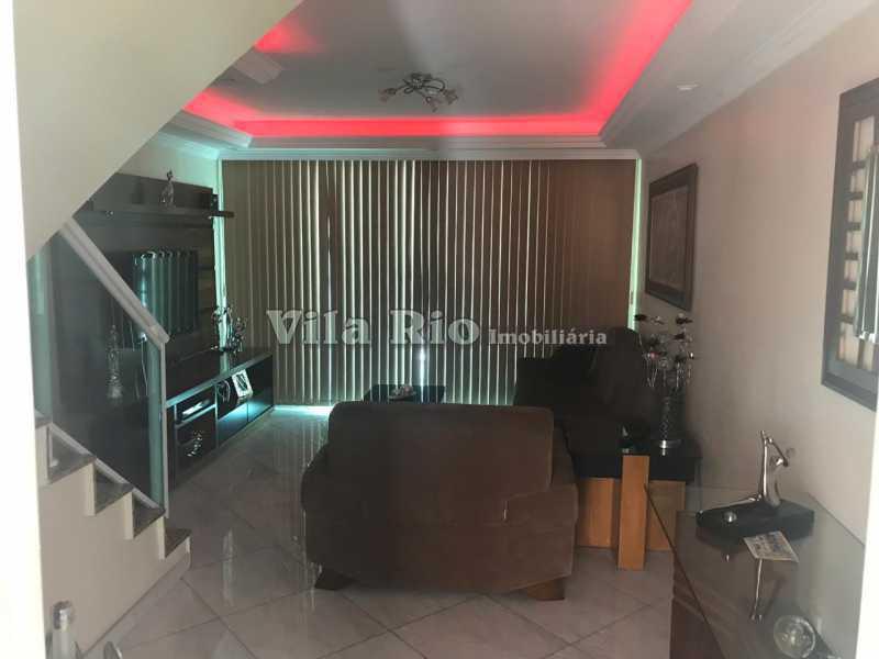 Sala - frente - Casa 4 quartos à venda Vicente de Carvalho, Rio de Janeiro - R$ 598.000 - VCA40034 - 3