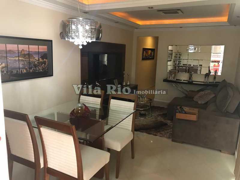 Sala - Fundos - Casa 4 quartos à venda Vicente de Carvalho, Rio de Janeiro - R$ 598.000 - VCA40034 - 4