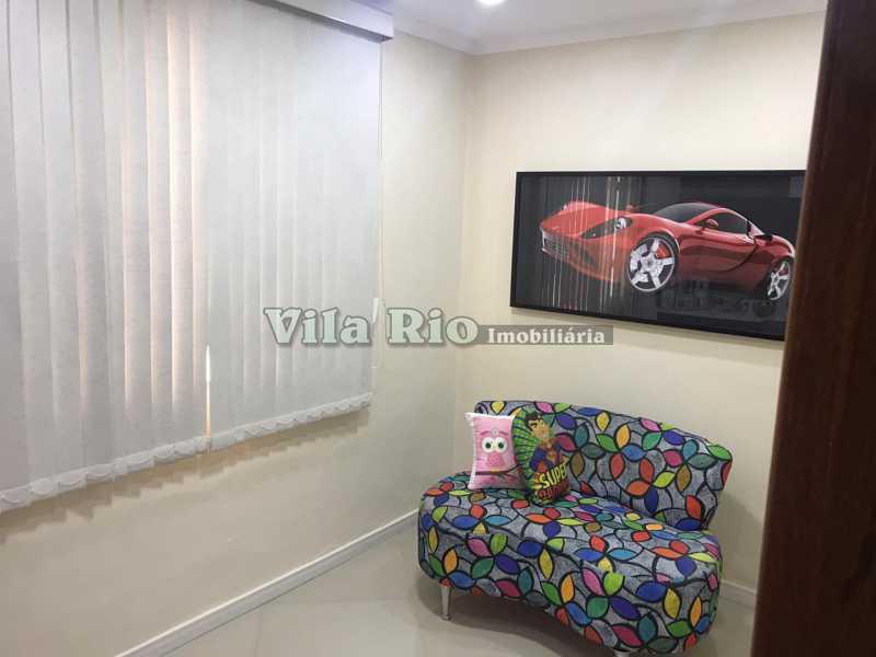 Quarto1 -fundos - Casa 4 quartos à venda Vicente de Carvalho, Rio de Janeiro - R$ 598.000 - VCA40034 - 8