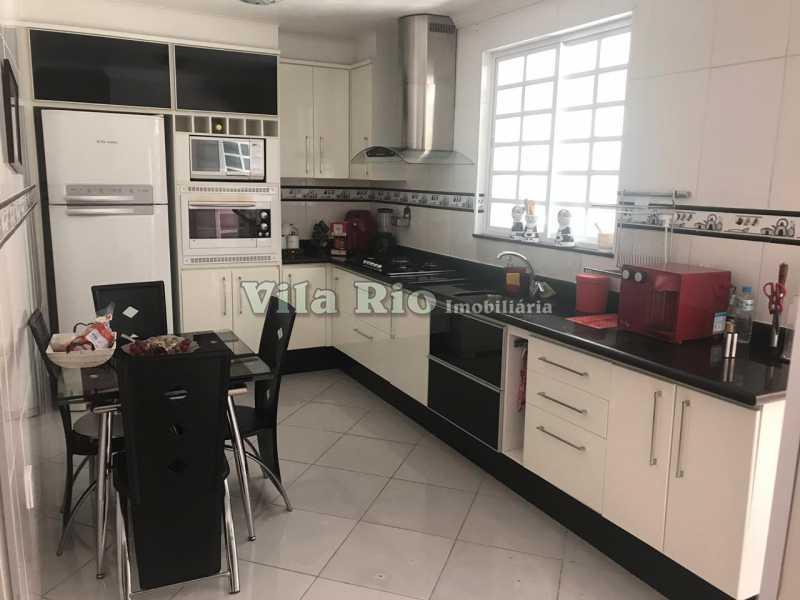Cozinha - frente - Casa 4 quartos à venda Vicente de Carvalho, Rio de Janeiro - R$ 598.000 - VCA40034 - 13