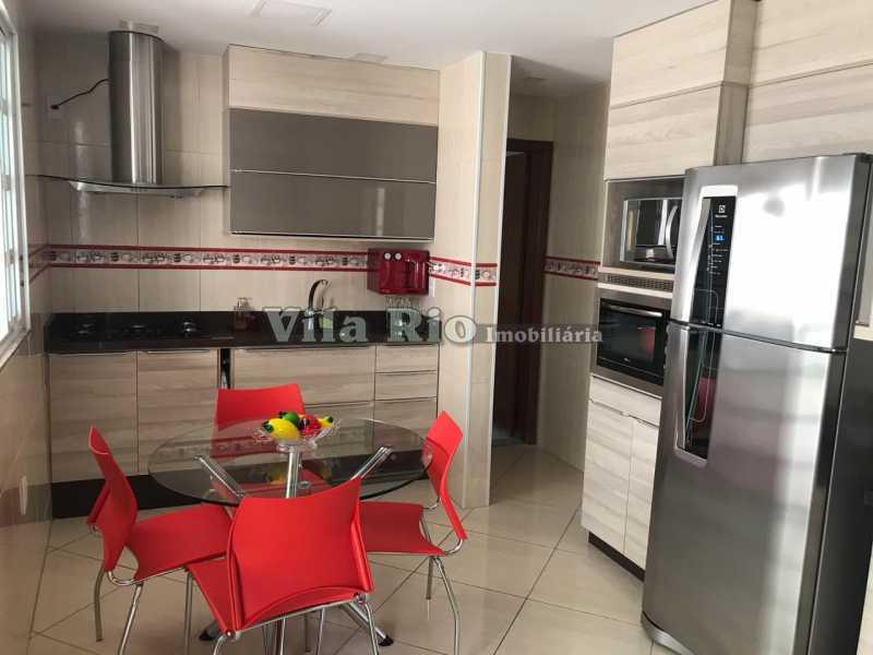 Cozinha - fundos - Casa 4 quartos à venda Vicente de Carvalho, Rio de Janeiro - R$ 598.000 - VCA40034 - 14