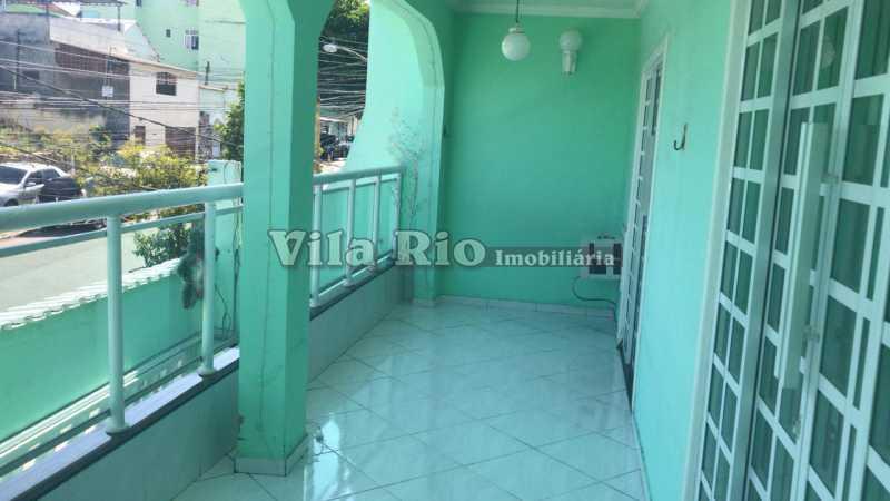 Varanda - Casa 4 quartos à venda Vicente de Carvalho, Rio de Janeiro - R$ 598.000 - VCA40034 - 15