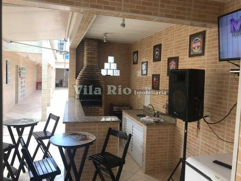 Churrasqueira - Casa 4 quartos à venda Vicente de Carvalho, Rio de Janeiro - R$ 598.000 - VCA40034 - 16