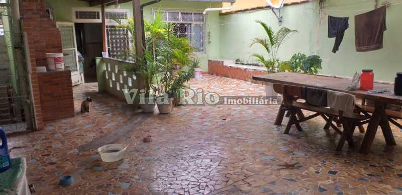 QUINTAL - Casa 3 quartos à venda Braz de Pina, Rio de Janeiro - R$ 630.000 - VCA30062 - 1