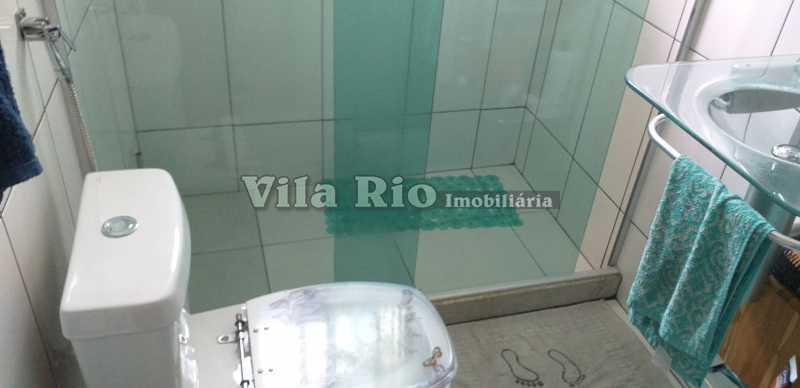 BANHEIRO 1 - Casa 3 quartos à venda Braz de Pina, Rio de Janeiro - R$ 630.000 - VCA30062 - 12