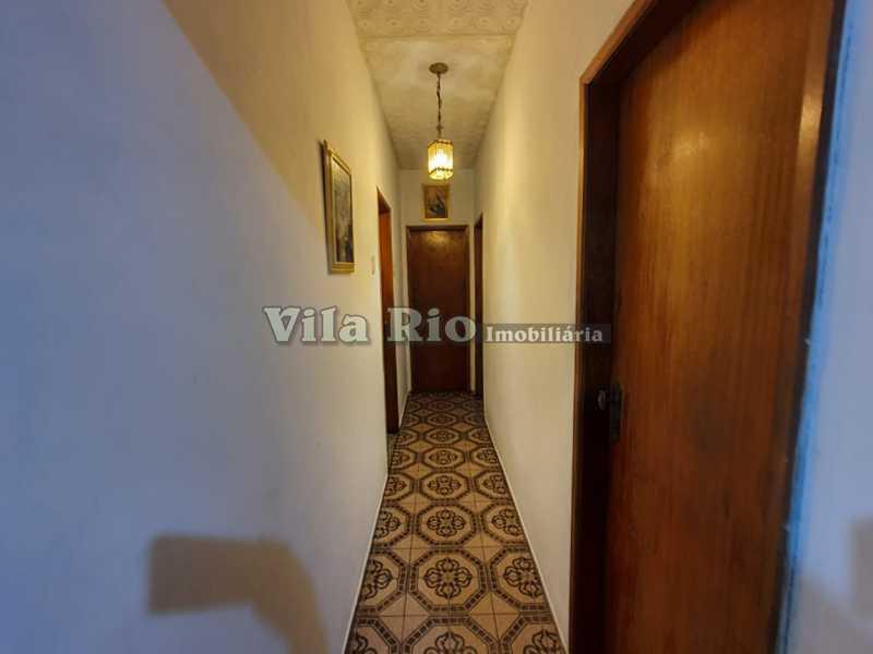 Circulação - Casa 4 quartos à venda Vila da Penha, Rio de Janeiro - R$ 790.000 - VCA40035 - 11