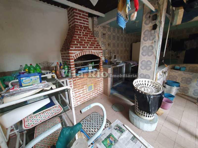 Churrasqueira - Casa 4 quartos à venda Vila da Penha, Rio de Janeiro - R$ 790.000 - VCA40035 - 15