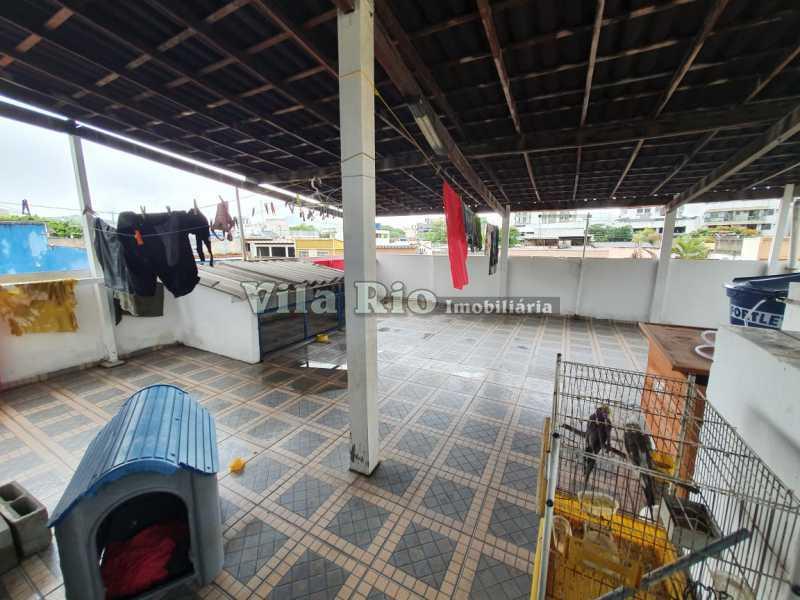 Terraço - Casa 4 quartos à venda Vila da Penha, Rio de Janeiro - R$ 790.000 - VCA40035 - 18