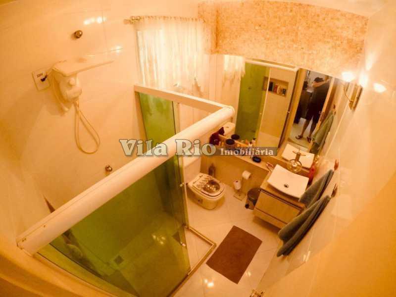 BANHEIRO 1. - Apartamento Vista Alegre, Rio de Janeiro, RJ À Venda, 1 Quarto, 47m² - VAP10055 - 8