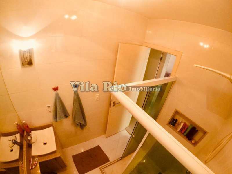 BANHEIRO 2. - Apartamento Vista Alegre, Rio de Janeiro, RJ À Venda, 1 Quarto, 47m² - VAP10055 - 9