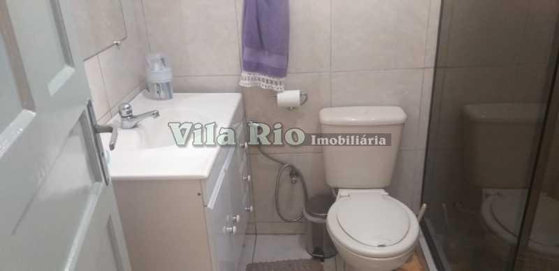 BANHEIRO 1. - Apartamento 2 quartos à venda Vista Alegre, Rio de Janeiro - R$ 500.000 - VAP20579 - 9