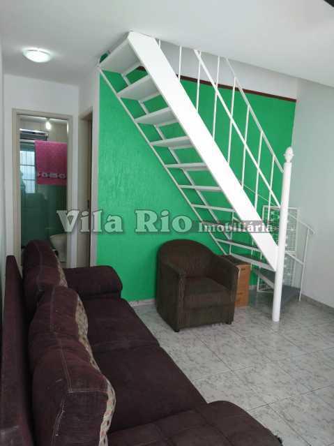 SALA 3 - Casa em Condomínio 2 quartos à venda Vista Alegre, Rio de Janeiro - R$ 285.000 - VCN20033 - 5